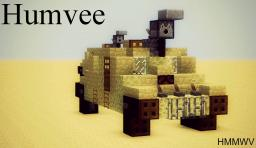 Humvee (HMMWV) Minecraft Map & Project