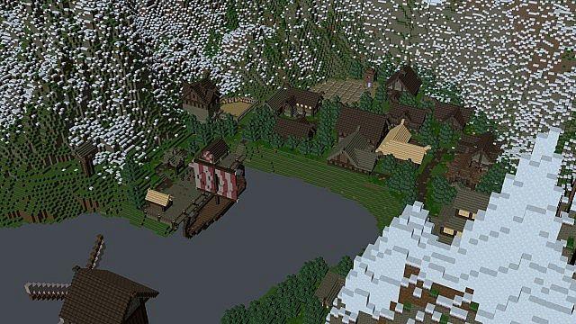 Jorvic Nordic Viking City Minecraft Project - Minecraft wikinger hauser
