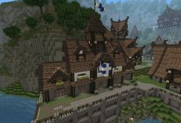 Medieval Townhall Minecraft Project