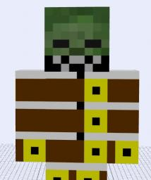 Straight Jacket Zombie Mod 1.3.2 Minecraft Mod