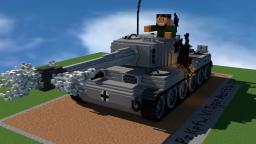 PzKpfw VI Tiger Minecraft Map & Project