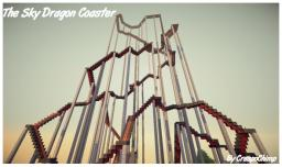 The Sky Dragon Coaster Minecraft Project