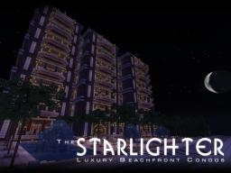 The Starlighter - Luxury Beachfront Condos Minecraft Map & Project