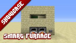 Smart furnaces [3 designs] Minecraft