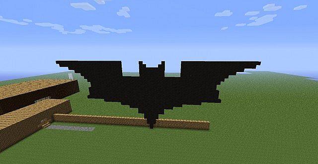Batman Symbol 1 Minecraft Project