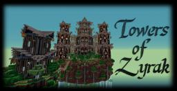 Towers Of Zyrak + Monster Madness Minigame + DOWNLOAD! Minecraft Map & Project