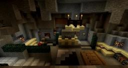 Cave House by WaterWorm19 / Hydraxia Minecraft Map & Project