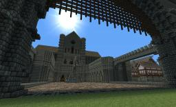 Huge medieval castle by Stecos Minecraft Map & Project