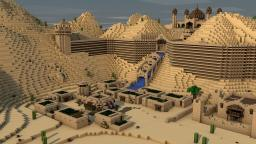Cinema4D Walking Animation + Map Download Minecraft Map & Project