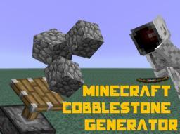 100% efficient cobblestone generator. Minecraft Map & Project