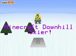 Minecraft Downhill Skier [Game] [Windows] Minecraft Mod