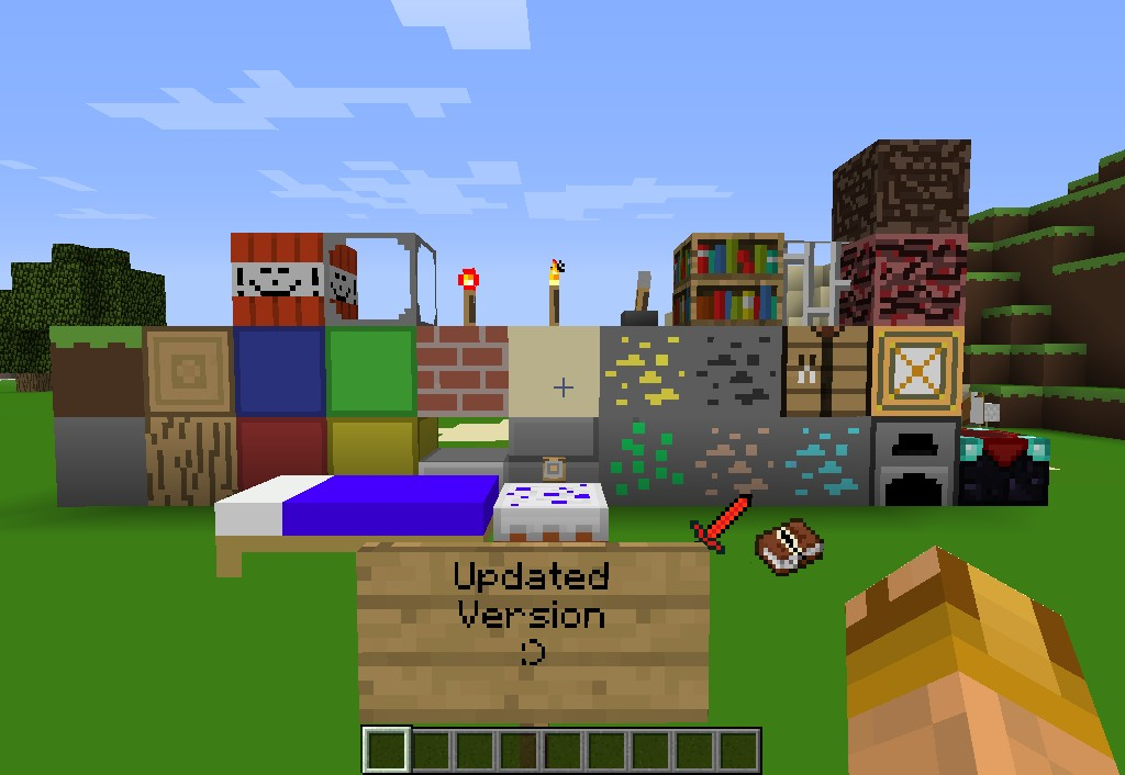 how to create a texture pack 1.8