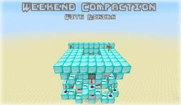 Weekend Compaction - 3x3 Flush Trapdoor Minecraft Project