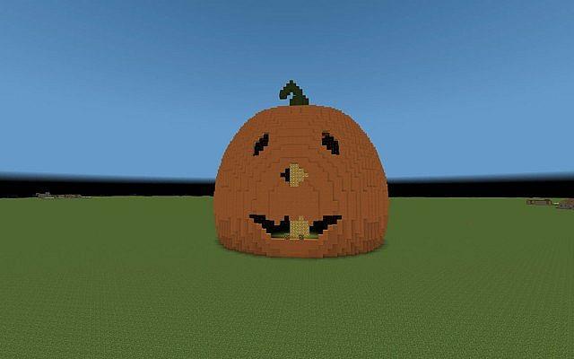 Giant Pumpkin Minecraft