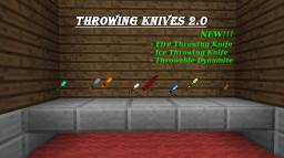 Throwing Knives 2.0 [1.3.2] Minecraft Mod