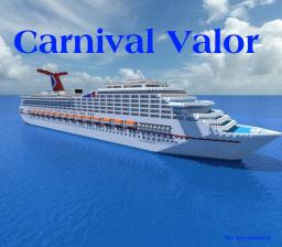Carnival Valor Cruiseship Minecraft