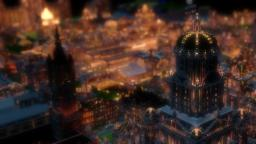 Imperial City at Night - Animated Minecraft Cinematic Minecraft Blog