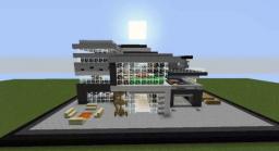 Modern Luxus Elegant House Minecraft Map & Project