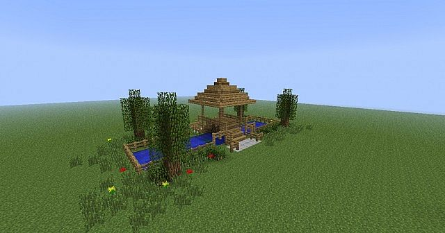 japanese bridge - Minecraft Japanese Bridge
