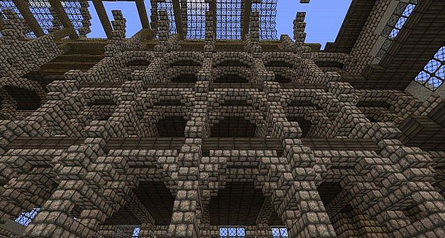 The Wolf Den Cathedral Of Water Minecraft Project
