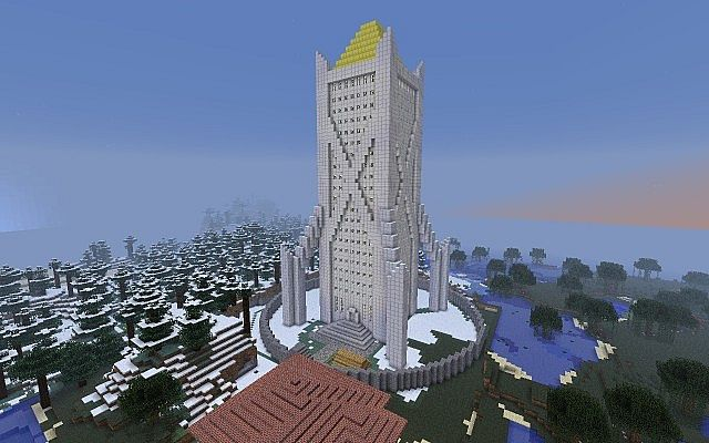 The Castle From The Books About Septimus Heap Minecraft