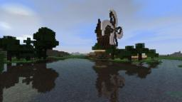 Little town with windmill Minecraft Project