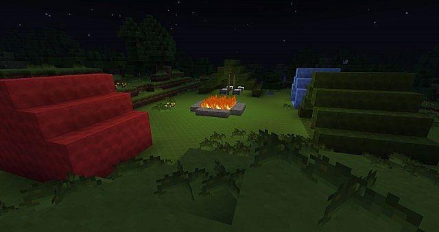 camp site minecraft project