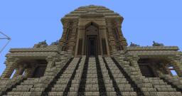 Indian temple Minecraft Map & Project