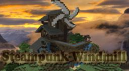 Steampunk Windmill - Fellow Valley Peak Minecraft Map & Project