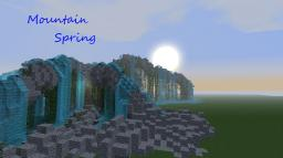 My First Terraform- Mountain Spring Minecraft