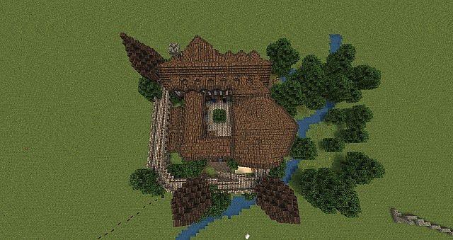 Medieval Guild Fort/hall