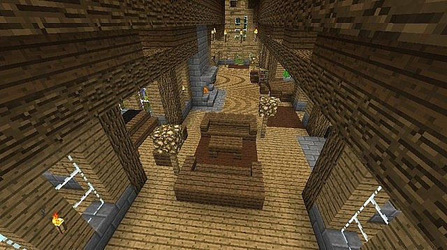 Canadian Style Log Cabin Minecraft Project