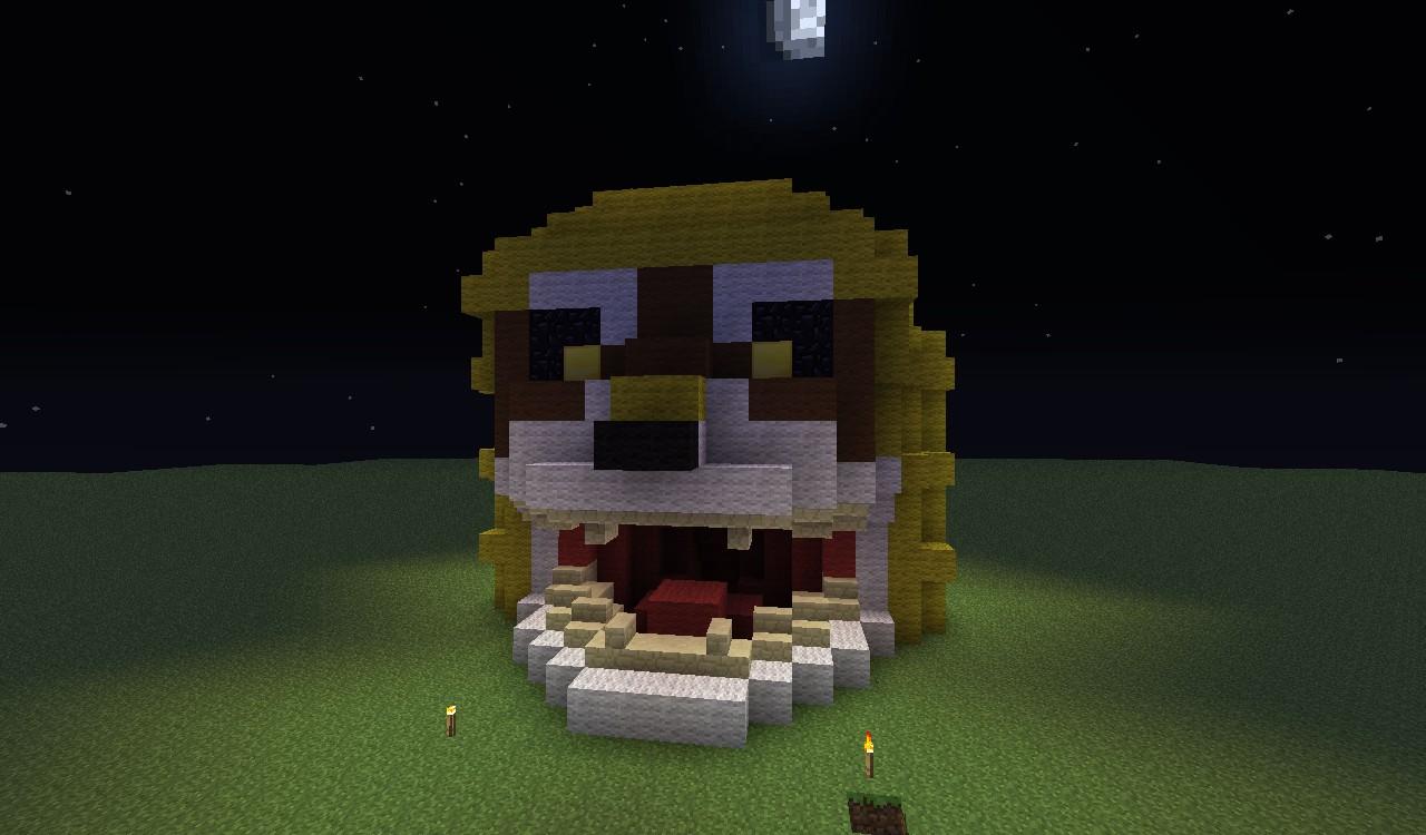 Minecraft Lion Build