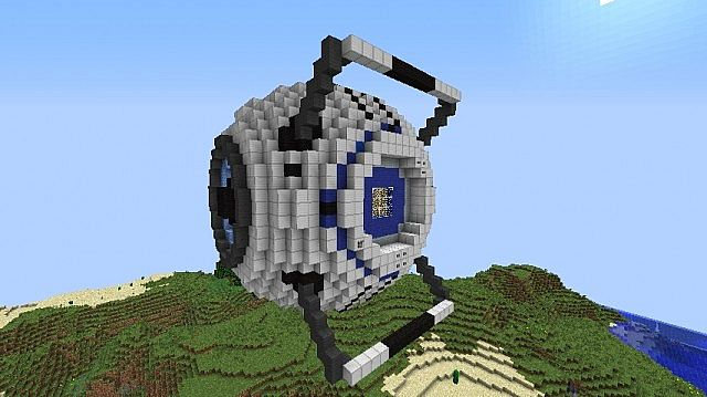 how to make a small robot in minecraft