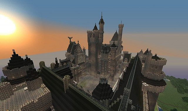 How To Build Castle In Minecraft Pc