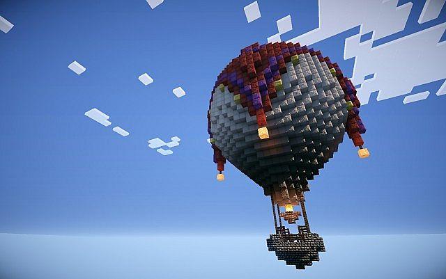 How To Build A Lego Hot Air Balloon