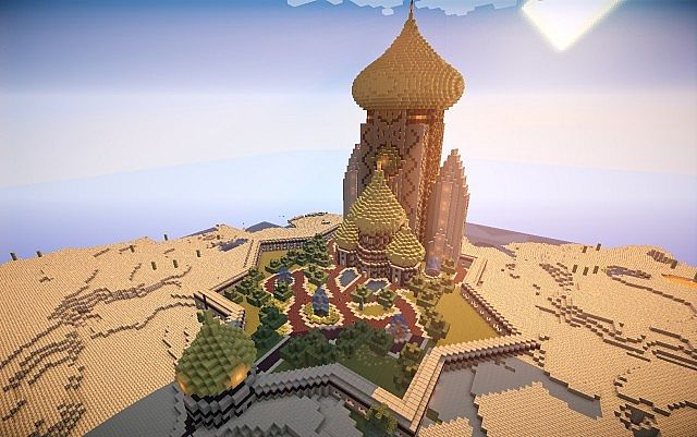 Eastern Star Palace Minecraft Project