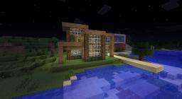 Sea side vila town! Minecraft Map & Project