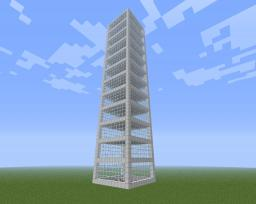 High SKYSCRAPER Minecraft Map & Project