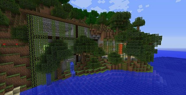 Mountain Base Minecraft Project - 55.5KB