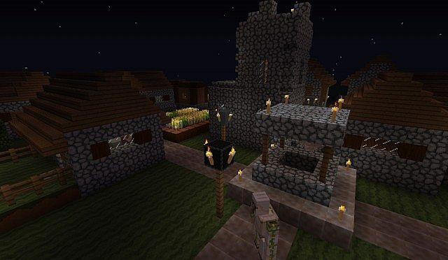 NPC village.