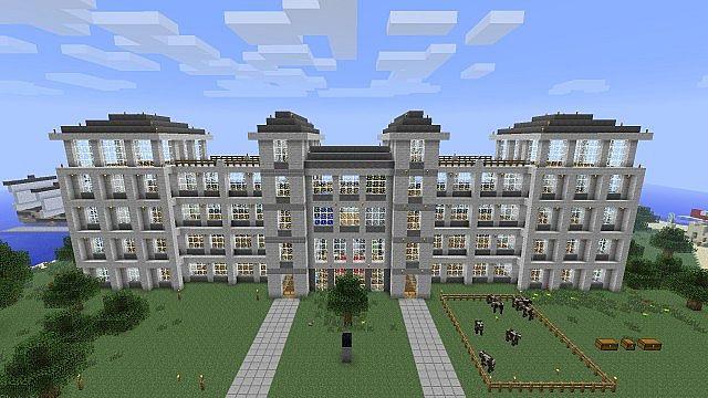 Minecraft Luxury Hotel Harbolnas F