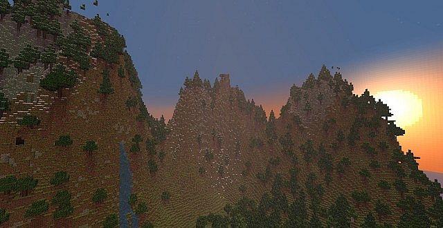 Mountain Valley Terraform + Download Minecraft Project