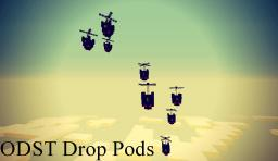 Halo ODST Drop Pod Minecraft Map & Project