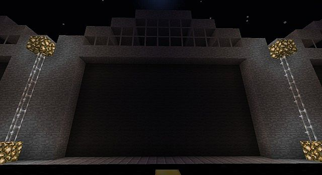 theirs a secrete behind the wall (if flans mod installed)
