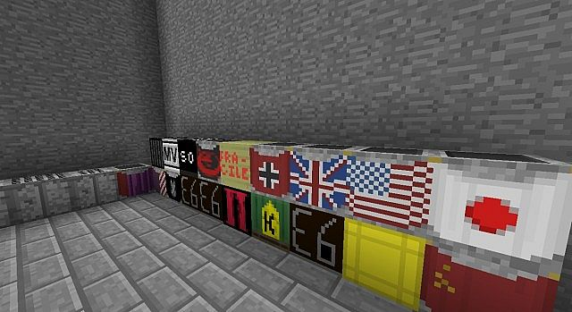 all the weapon boxes from every pack (in flans mod)