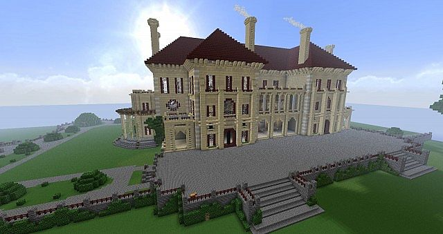 how to get to the woodlamd mansion in minecraft