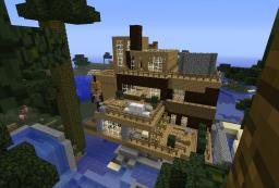 Modern Manor - By ILLIPO Minecraft Map & Project