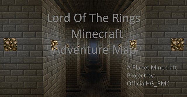 Lord of The Rings Minecraft Adventure Map