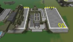 Halo: UNSC Supply Pad Minecraft Map & Project